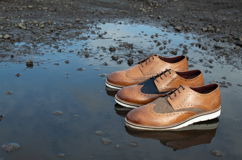 Brogues were originally intended for boggy terrain