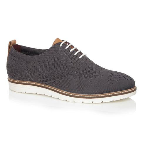 Try a knitted brogue in the summer