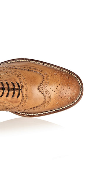 Gatsby Junior Brogues Tan, Shoes, London Brogues  - London Brogues
