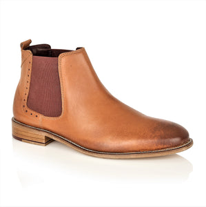 Gatsby Chelsea Boot Tan Leather