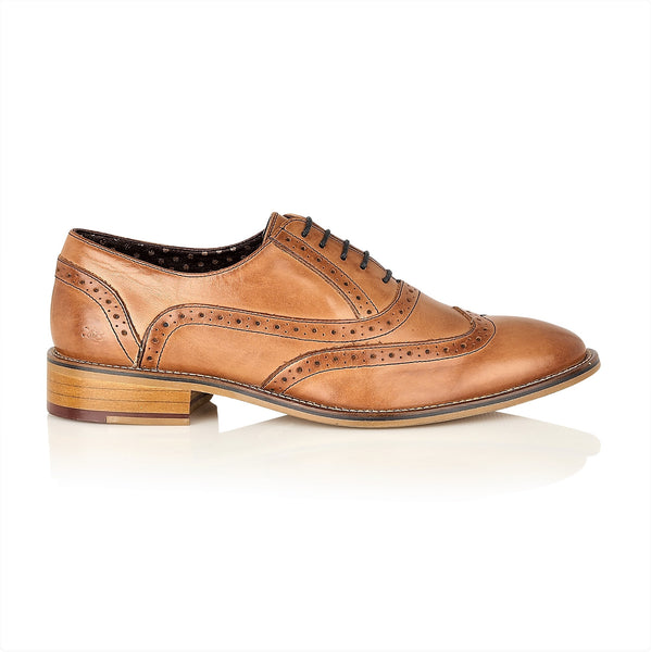George Oxford Leather Tan