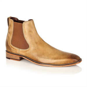 Parker Full Leather Chelsea Boot Tan