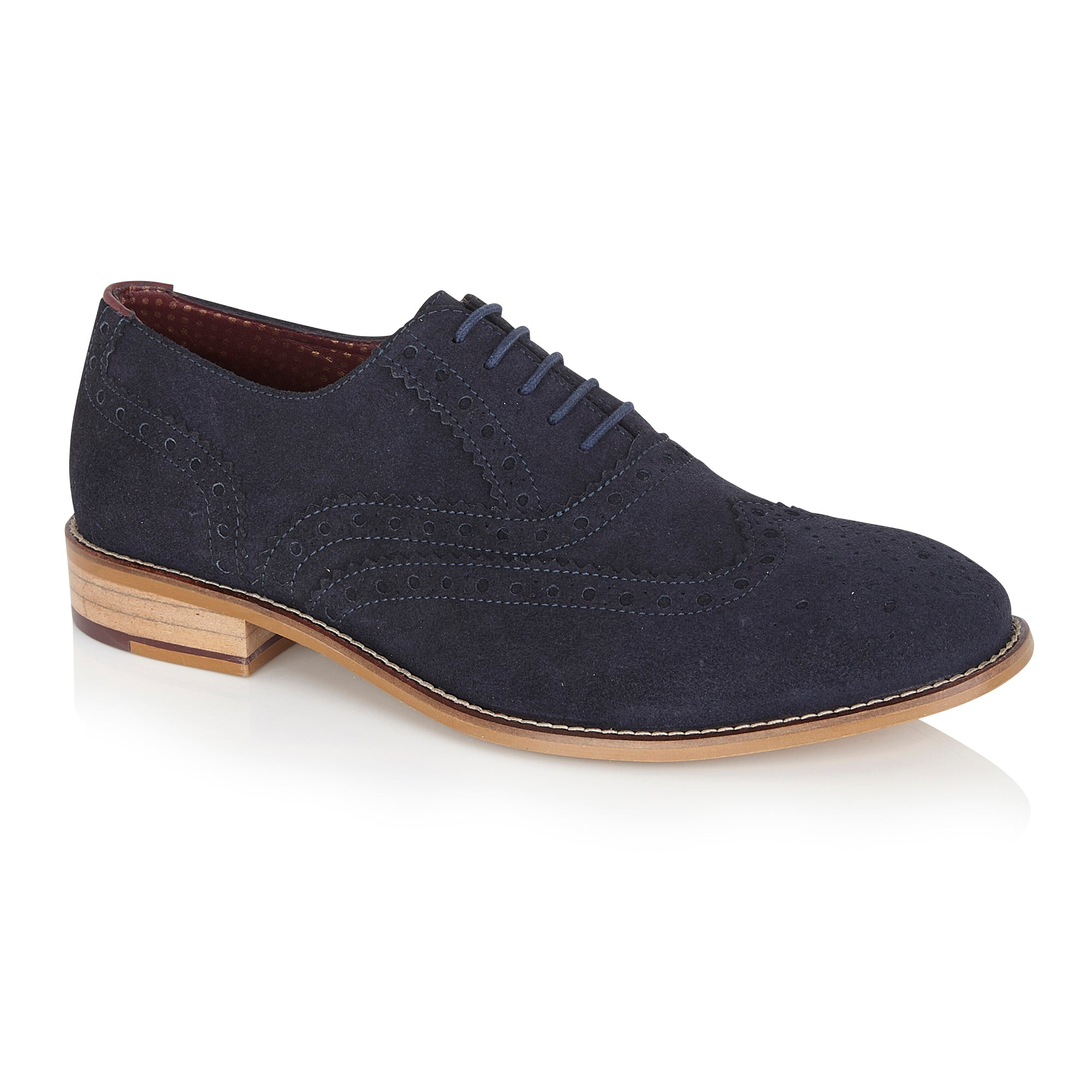 Clive Navy, Shoes, London Brogues  - London Brogues