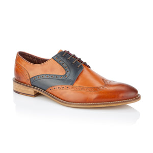 Tommy Derby Tan/Navy