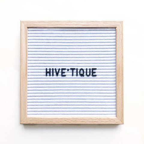 Small letter board (10 x 10 inch) with white felt