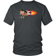 Fur Missile Adult Tee