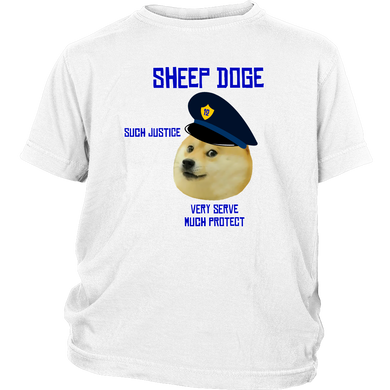 Sheep Doge Kids Tee