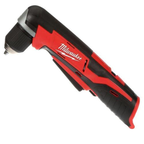 NH Milwaukee M12 12-Volt 3/8 in. Cordless Right Angle Drill (Tool-Only) 2415-20 C+