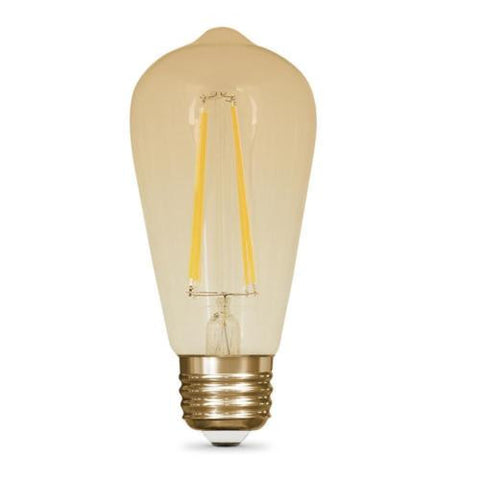 Vintage Style 60W Equivalent Soft White ST19 Dimmable LED Light Bulb BPST19/LED A