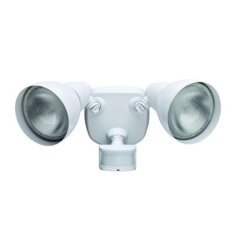 NH Defiant 270 Degree White Motion Outdoor Security Light A DF-5718-WH-D