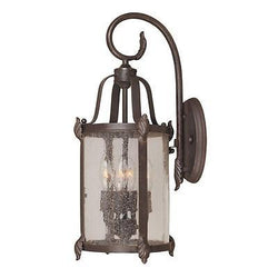 KZ World Imports WI169389 Old Sturbridge Collection 4-Light Bronze Wall Lantern