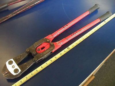 "KZ H.K. Porter 26"" Double Compound Bolt Cutters  - USED"