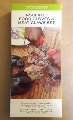 NH Charcoal Companion Insulated Food Gloves & Meat Claws Set
