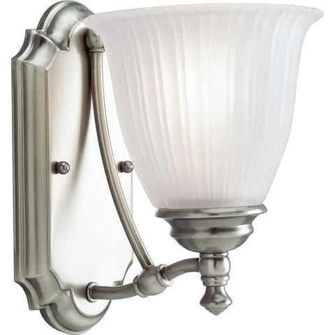 NH Renovations Collection 1-Light Antique Nickel Vanity Fixture P3016-81 A