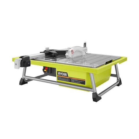 NH Ryobi 7 in. Tabletop Tile Saw B+ WS722