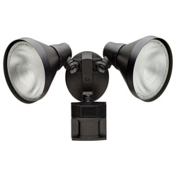 NH Defiant 180 Degree Black Motion-Sensing Outdoor Security Light B+ DF-5416-BK-A