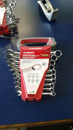 KZ HUSKY 342713 10-Piece Universal Combination Wrench Set Metric 8mm to 19mm