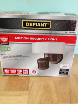 NH Defiant 180 Bronze LED Motion Outdoor Security Light DFI-5983-BZ A