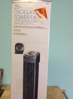 NH 28 in. Oscillating Tower Fan 1000026990 B