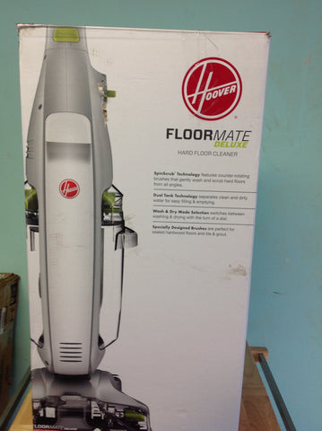 NH Hoover FloorMate Deluxe Hard Floor Cleaner with Foldable Handle FH40165 B
