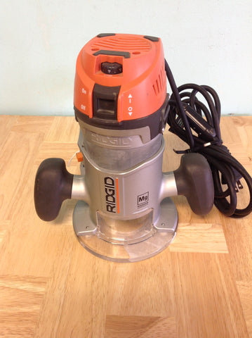 NH RIDGID 2 HP 1/2 in. Corded Fixed Base Router R2901 B