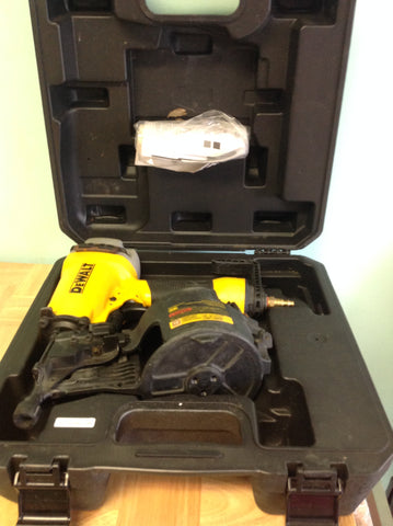 NH DEWALT Pneumatic 15 Degree Coil Siding Nailer DW66C-1 C