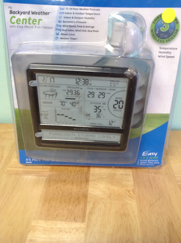 NH AcuRite Digital Weather Station with Scrolling Ticker 00615HDA1 A