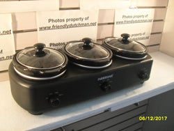 KZ Farberware MD-QH4501A Triple Slow Cooker