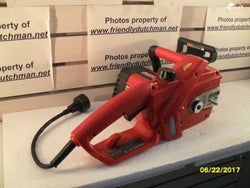 "KZ CRAFTSMAN 172.452470 16"" ELECTRIC CHAINSAW  *** DOES NOT RUN ***"