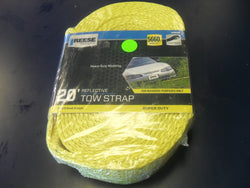 "KZ Reese 9426400 2"" x 20' Tow Strap Rope with Loop - NEW!"