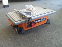 KZ RIDGID R4020 7 in. Job Site Wet Tile Saw USED