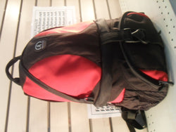 "KZ TAMRAC 18"" Camera Bag Backpack SAS Strap Accessory System Red/Black"