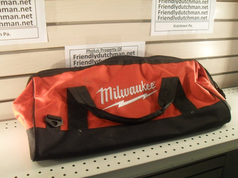 "KZ Milwaukee 22"" Heavy Duty Contractors Tool Bag  22"" x 11"" x 10"" NEW"