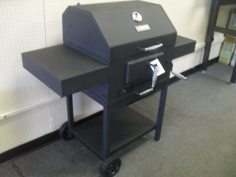 KZ BBQ PRO PG-CG004 DELUXE CHARCOAL GRILL, BLACK - FULLY ASSEMBLED