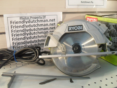 "KZ Ryobi CSB144LZK 7-1/4"" Circular Saw with Laser - SLIGHTLY USED"