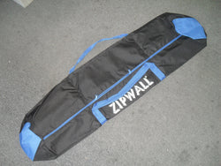"KZ ZipWall CB1  8"" x 3"" x 50"" Carry Bag for Dust Barrier System Black/Blue"
