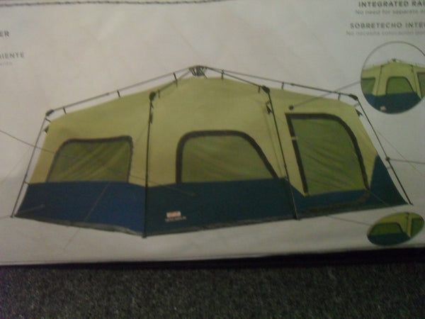KC Coleman 2031101 12-Person Double Hub Instant Camping Tent