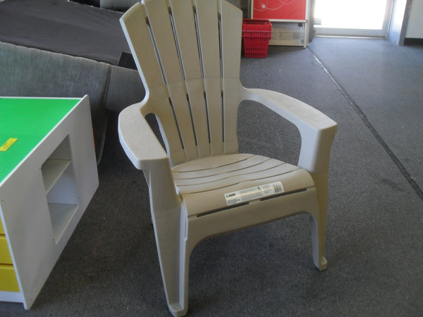 KZ Adams LBUE-8372DSC01 Adirondack Resin Chair