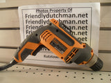 "KZ Ridgid R7001 7.5 Amp 3/8"" Heavy Duty Drill - USED"