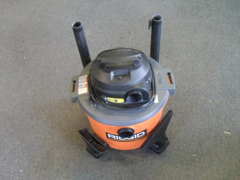 RIDGID WD09701 9 gal. 4.25-Peak HP Wet Dry Vac - LIGHTLY USED