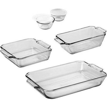 KZ Anchor Hocking 82675L9 Bakeware 7-Piece Set