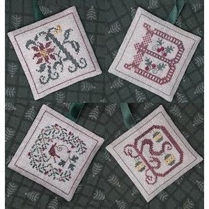 Alphabets Ornaments Two (A, B, C, & D)