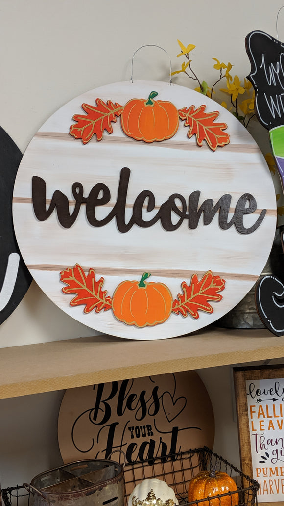 Layer Fall Welcome