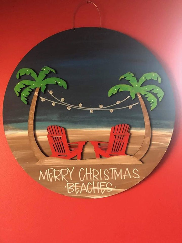Merry Christmas Beaches