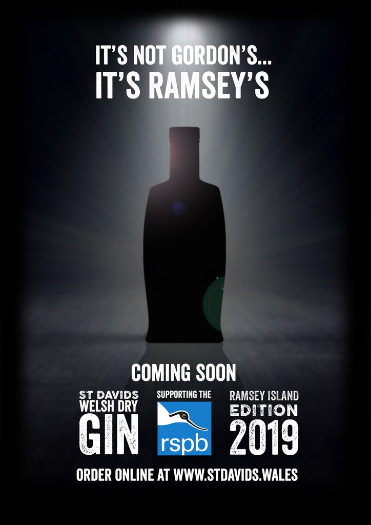 Our new limited 2019 edition of Ramsey Island Gin!