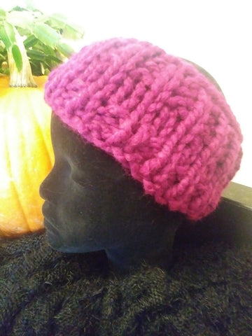 STDAVIDS.WALES:Chunky Head Warmer:Big Mommas Knits:Knitware