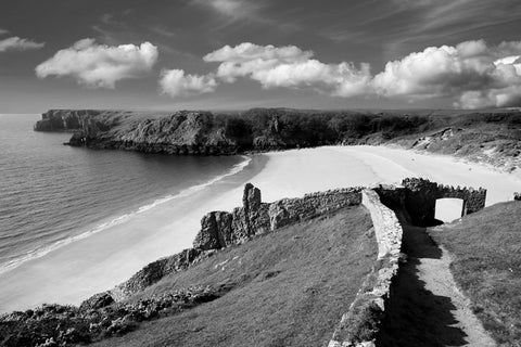 STDAVIDS.WALES:Barafundle, Pembrokeshire, West Wales Print:DAVID WILSON PHOTOGRAPHY:Photography