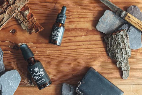 STDAVIDS.WALES:Blue Mountain Beard Oil:OLD FAITHFUL:Body Lotion