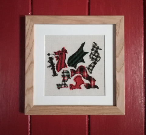 STDAVIDS.WALES:Welsh Dragon Applique:MABLIJACK:FELT