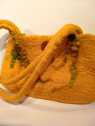 STDAVIDS.WALES:Felted Shoulder Bag:Lynney Lainey Loo:Bags